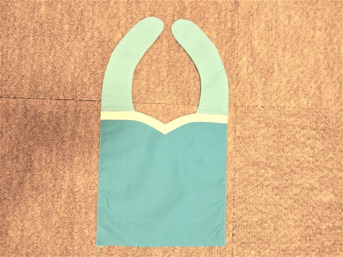 『キュアフォンテーヌの衣装』上半身作り④