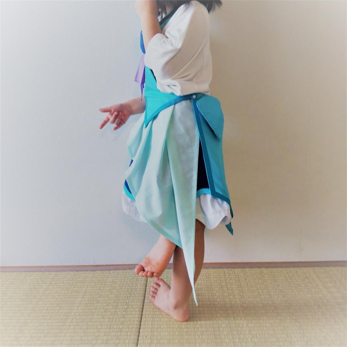 『キュアフォンテーヌの衣装』着画②