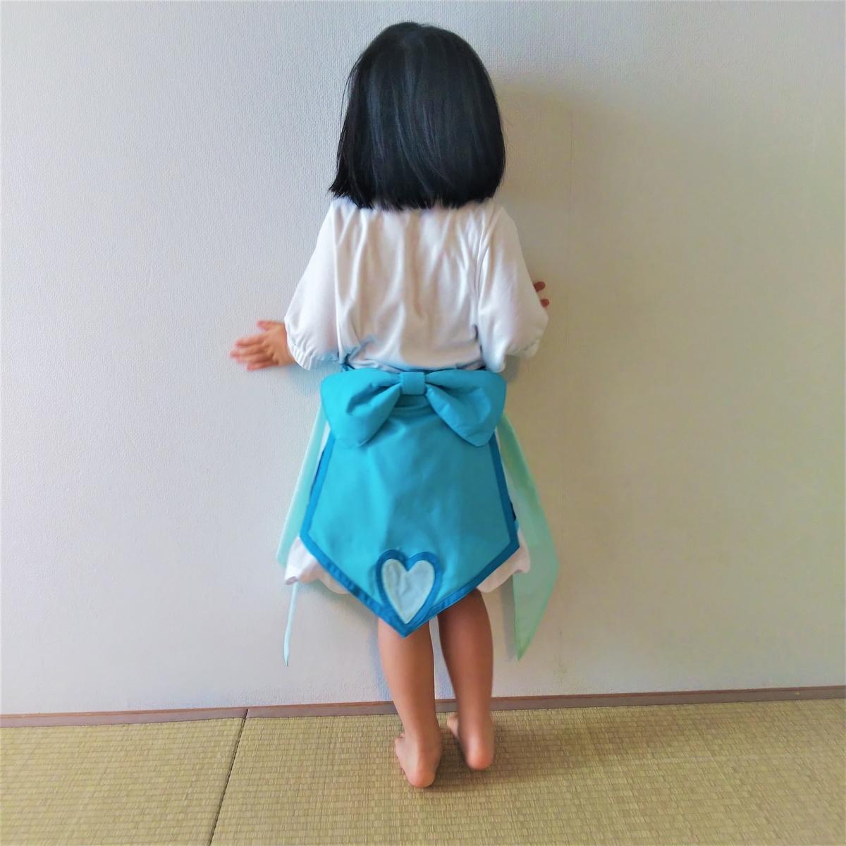 『キュアフォンテーヌの衣装』着画③