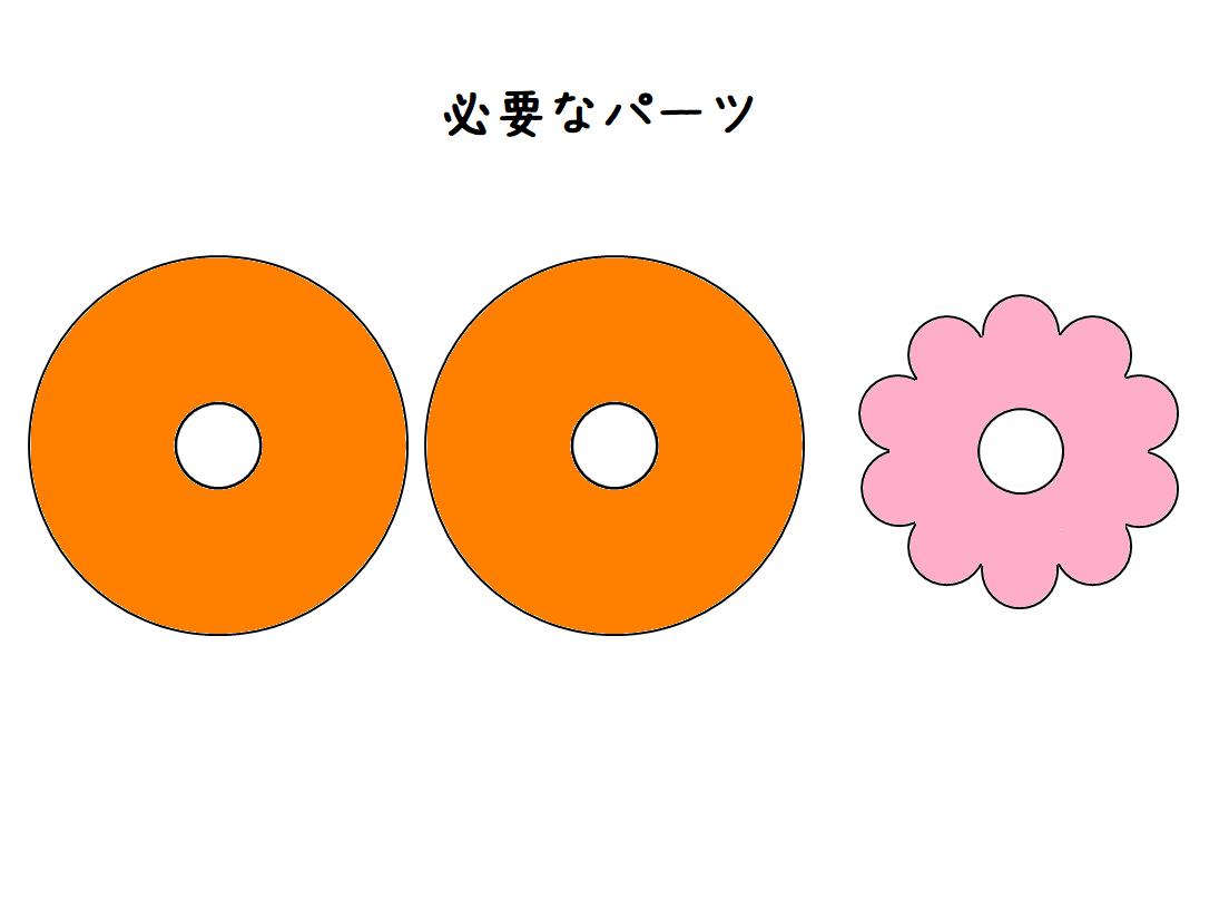 『基本のドーナツ』のパーツ