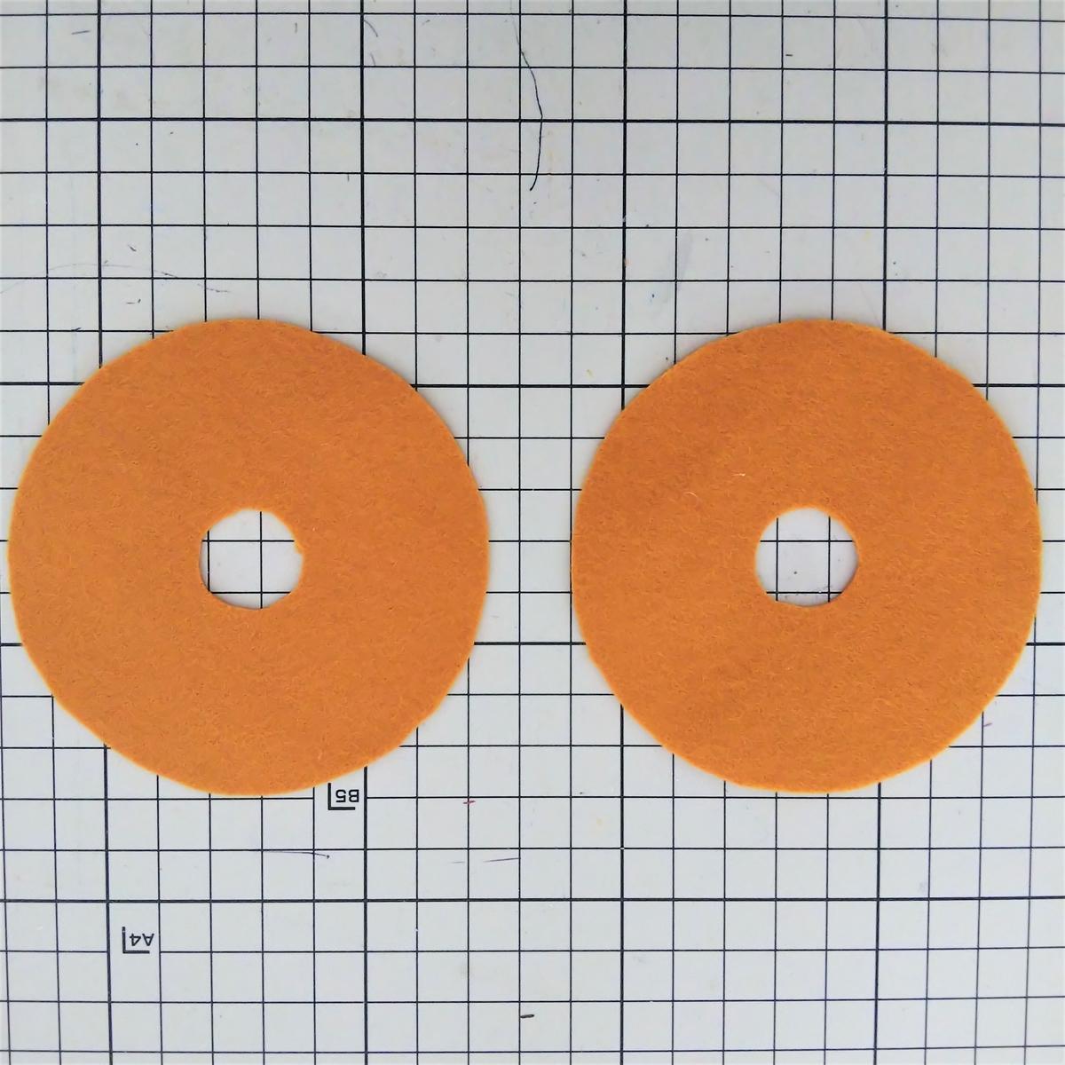 基本のドーナツの作り方⑥ 2つ用意する