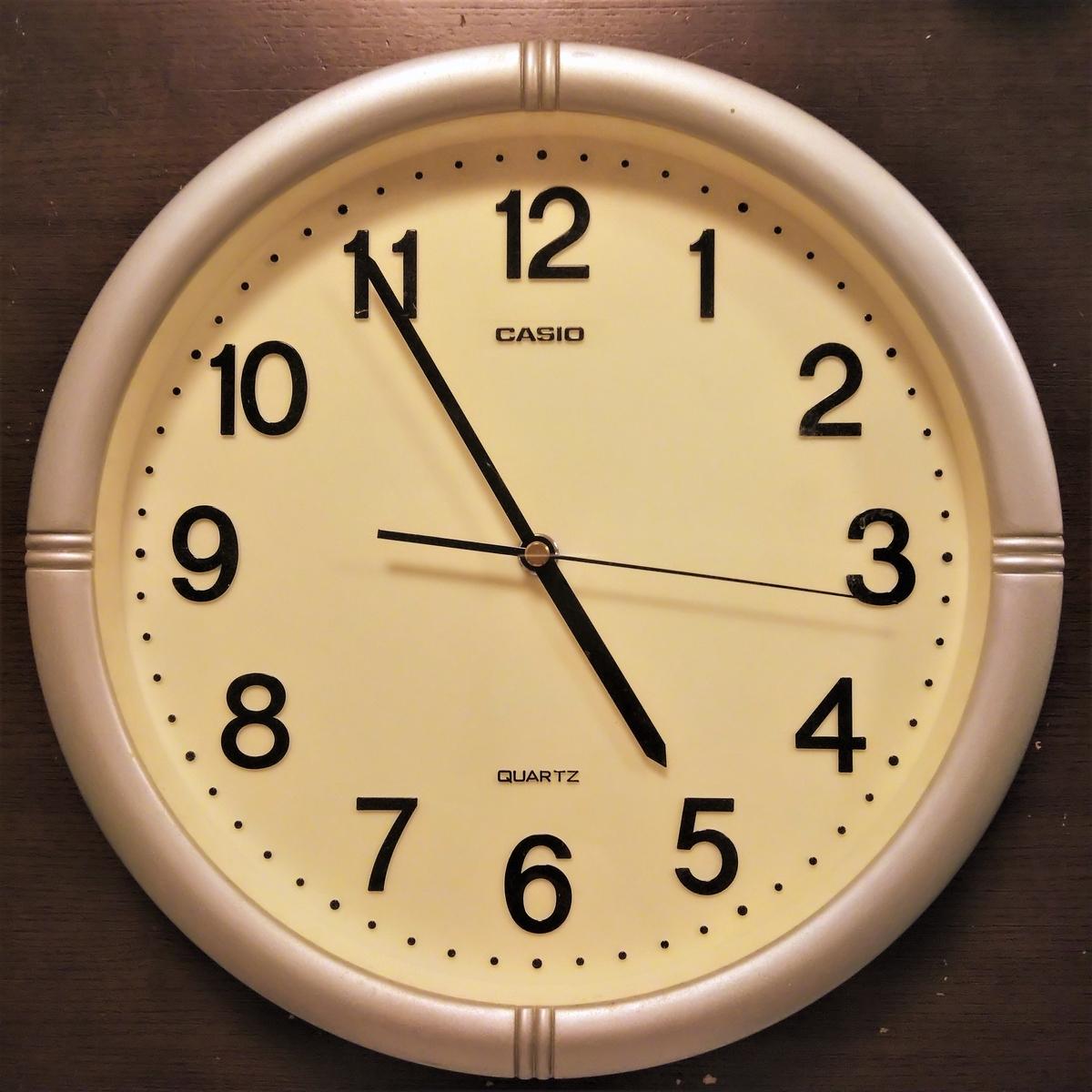 プラバン時計① 時計を分解する