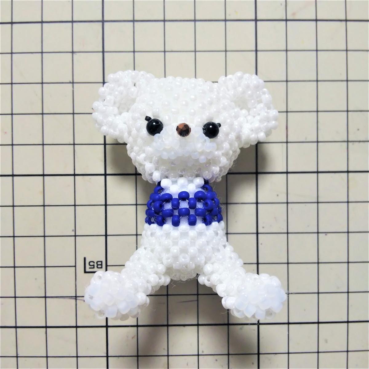 胴体・足・しっぽを編む