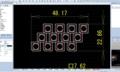 自作デイライト製作計画②・・・配線の取り回し(赤線)を検討中。