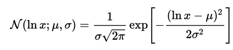 対数正規分布