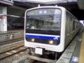 常磐線E501系ラインカラー青版
