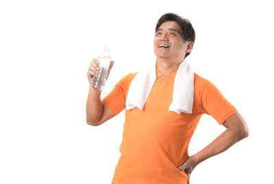 美味しく水を飲む
