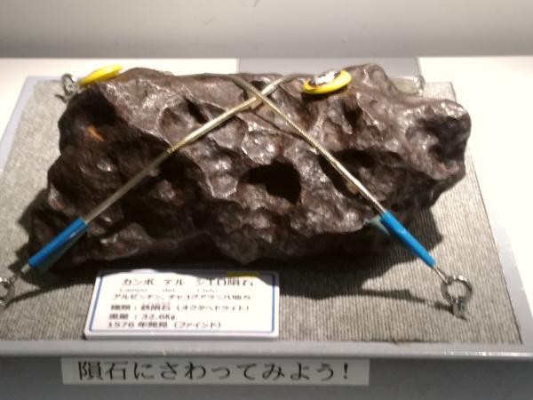 鉄隕石(カンポ デル シエロ隕石)