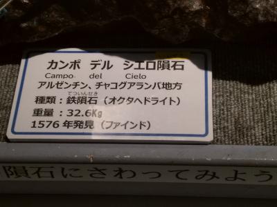 カンポ-デル-シエロ隕石説明