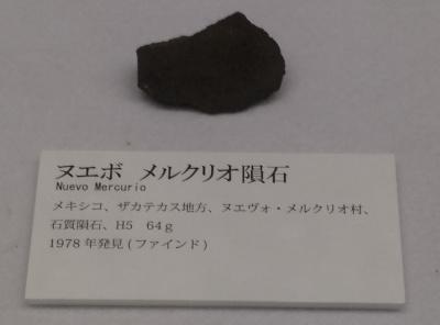 ヌエボ メルクリオ隕石