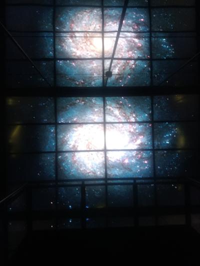 幻想的な宇宙の景色
