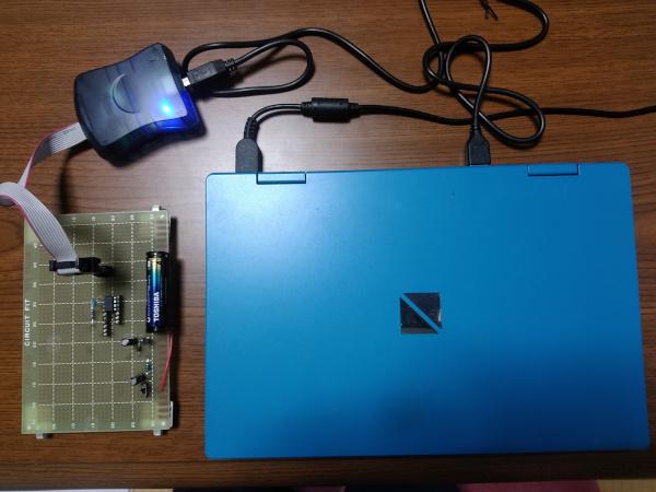 PCと全て接続