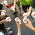 8/26 グレープフルーツ、バナナ、パセリ、イケメン(2歳児)ー 場所: