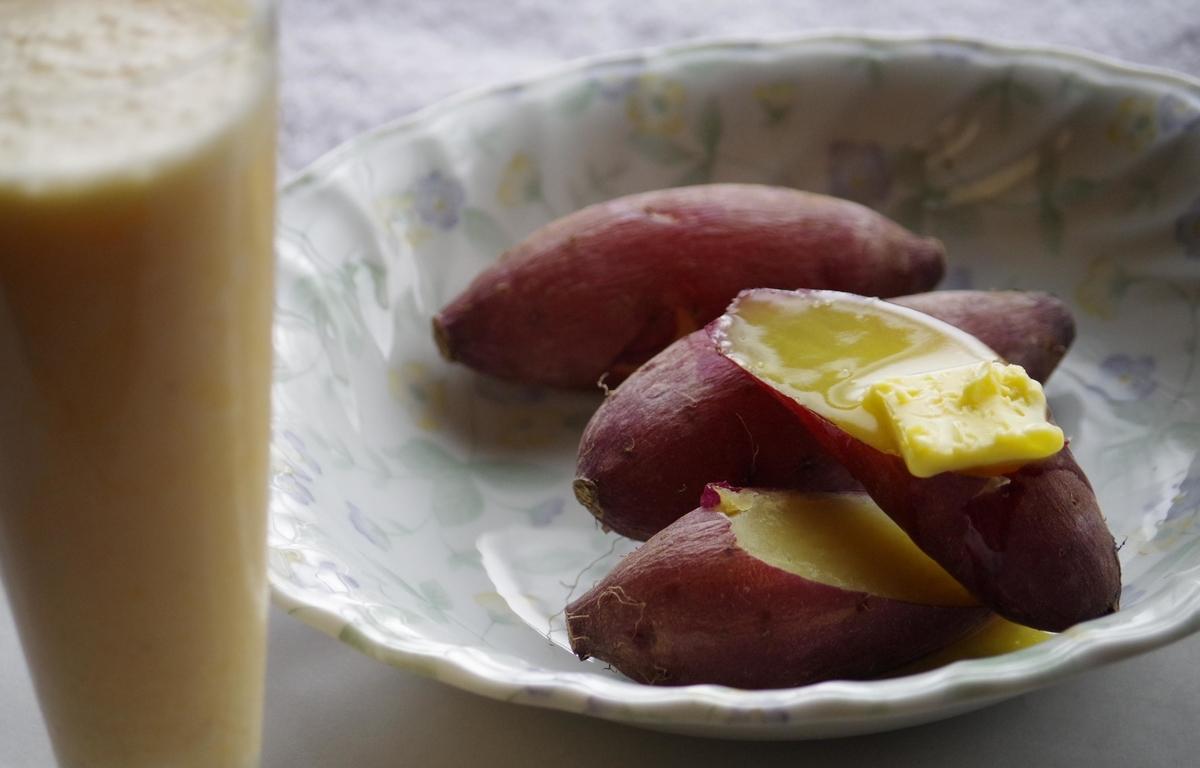 本日の一品 焼き芋 Yaki-imo