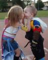 Baby Tidus&Yuna 世界1ピュアなキス