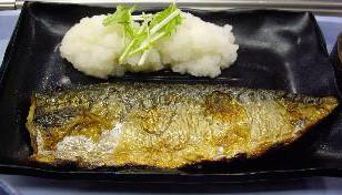 吉野家の焼鯖