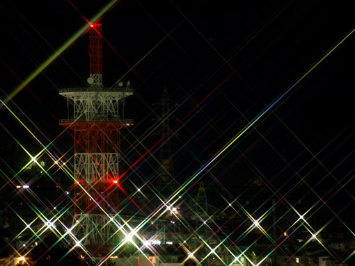 団地のNTT電波塔 団地のNTT電波塔  個別「団地のNTT電波塔」の写真、画像、動画