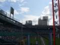 [野球][カープ]広島市民球場 ライトポール際から