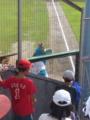 [野球][カープ]広島市民球場 ライトポール際からスラィリー