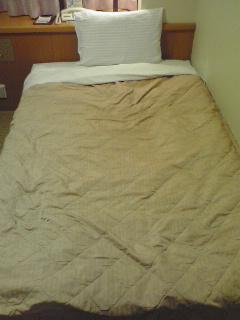 普通のベッド