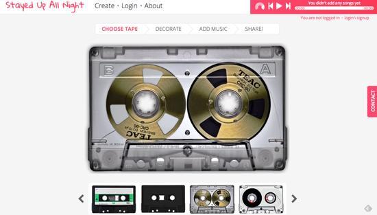 カセットテープ 半透明