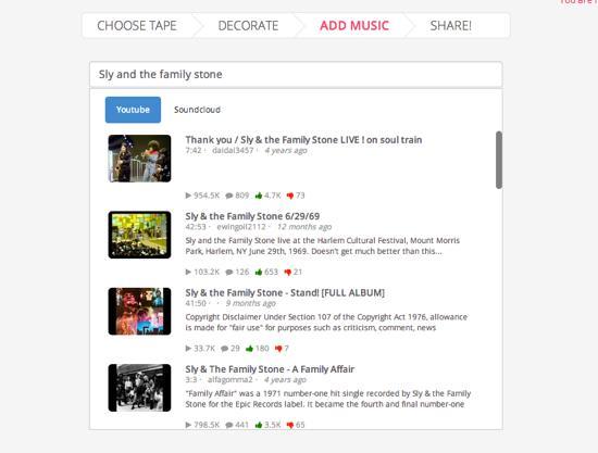 スムーズな動作のYouTube Webアプリ
