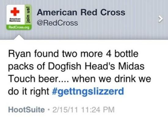 赤十字 ツイート