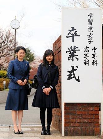 佳子さま 卒業