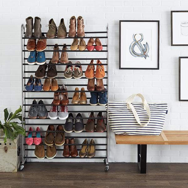 靴をちゃんと収納すればインテリアはグッとレベルアップします
