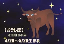 2017年の開運12星座星占い おうし座