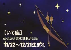 2017年の開運12星座星占い いて座