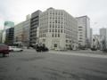 広島市街の風景。