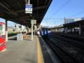 翌朝。島原に向かうため電車に。