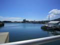 島原を発つため、暑い中歩き通して漸く港へ。