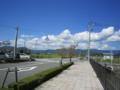 吉野ヶ里公園駅を出て少し歩く。