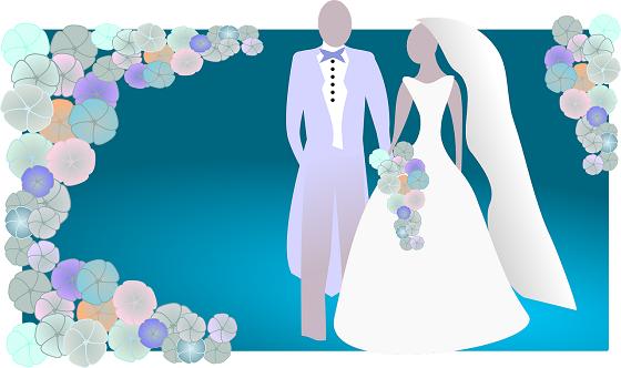 結婚に必要なことをやり遂げ結婚に至った二人