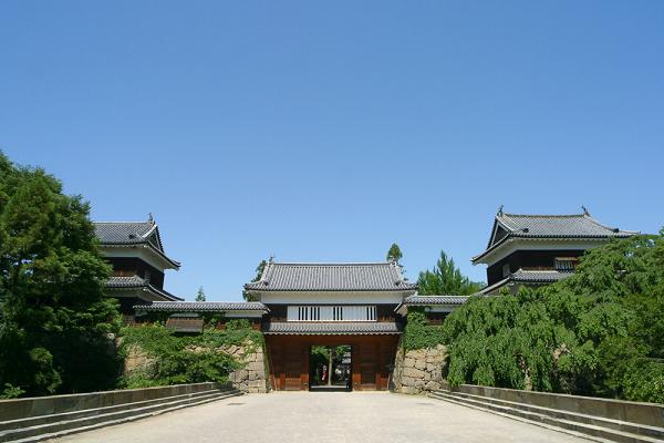 真田幸村が徳川方と戦った上田城