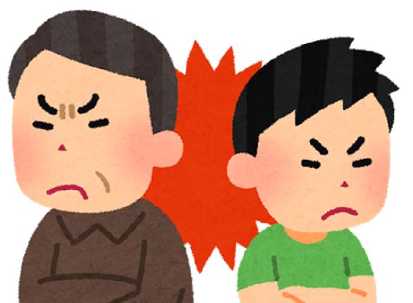 子供に対する言葉を間違うと親子が対立することになる