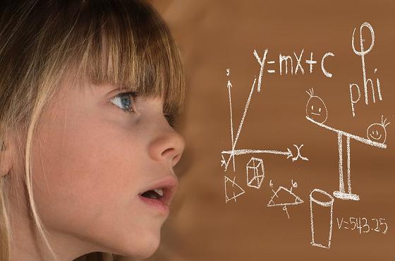 計算力を鍛える子供