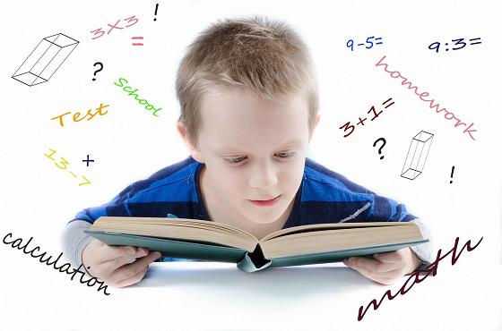 天才児の特徴のひとつは学習意欲があること…というイメージ