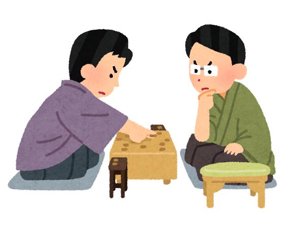 将棋が強い人は仕事ができる人というイメージ