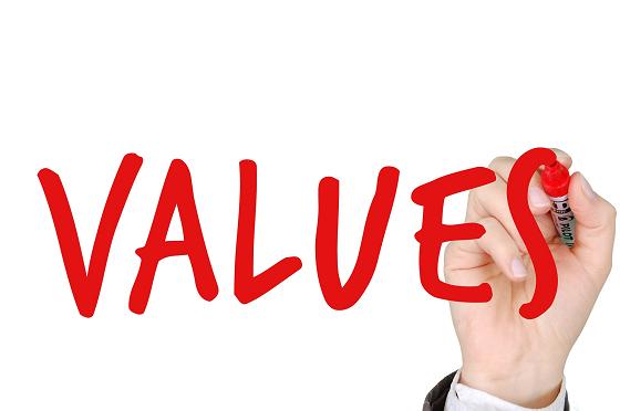 ブログの記事を書く目的は価値を届けること…を表すイメージ