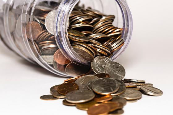 お金を節約する…というイメージ