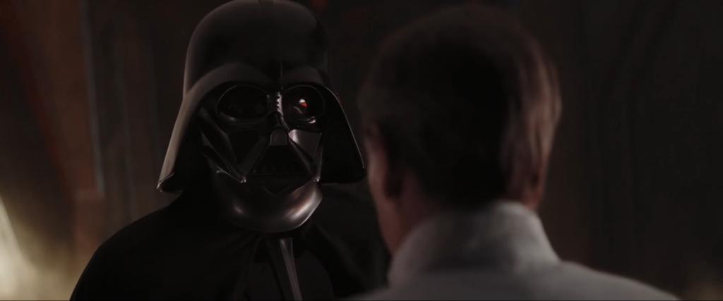 ローグ・ワン』ダース・ベイダーのマスクの下に見る顔 , the