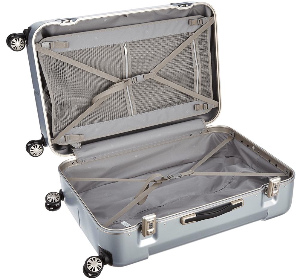 ヒデオワカマツ ナローのスーツケース画像02