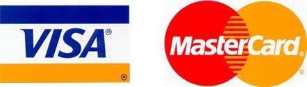 VisaとMastercardがあれば支払いに困ることはありません!