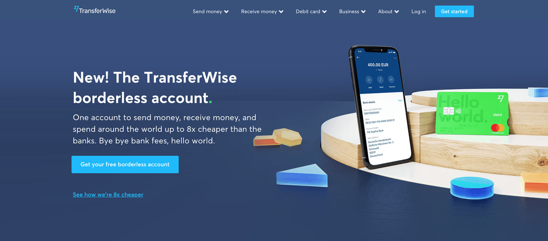 TransferWiseボーダレス口座・デビットカードを2020年夏を目標に日本への提供を準備中