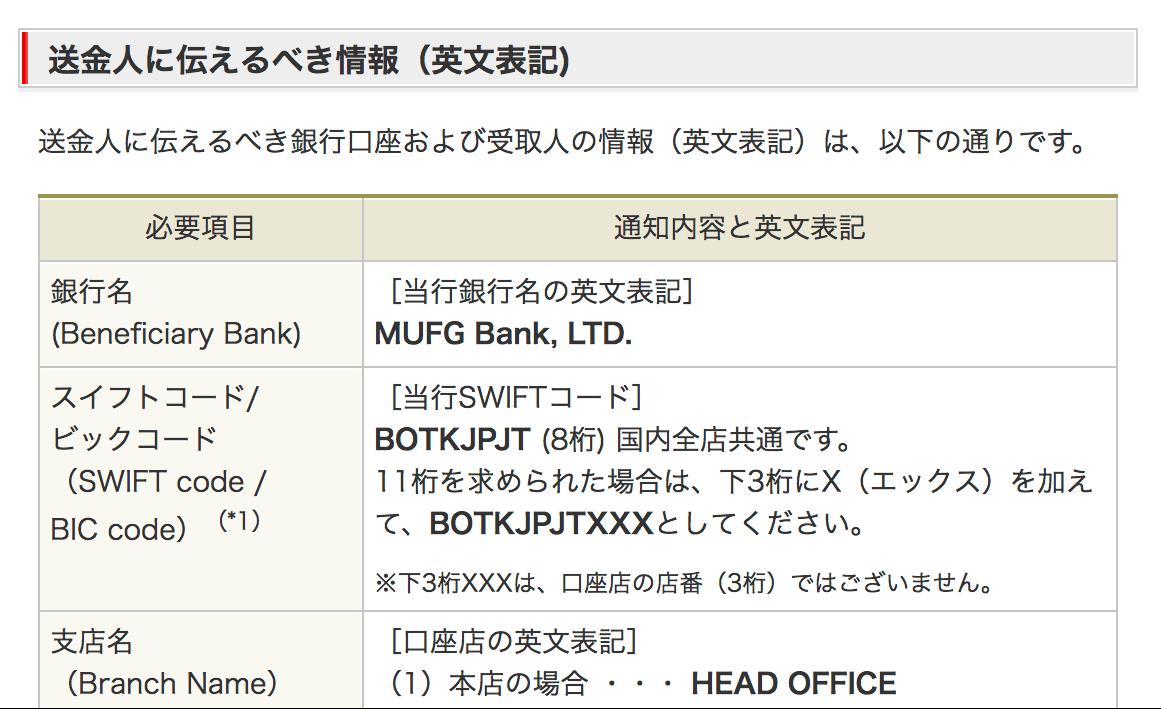 日本への海外送金に必要な英語表記+SWIFTコードなど用意しておきましょう!