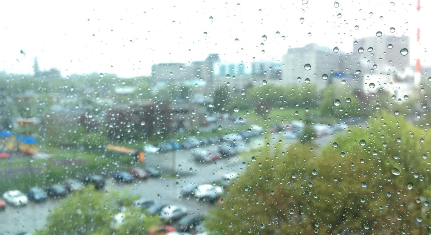 ハリファックスの梅雨。おしゃれにとって見ました。