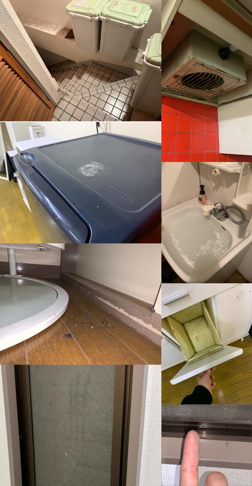 汚過ぎるAirbnbの両国物件。「当社の清掃基準」は満たしているそうです 笑